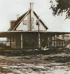 Earliest picture of Defender House
