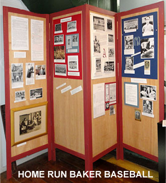 Home Run Baker Baseball